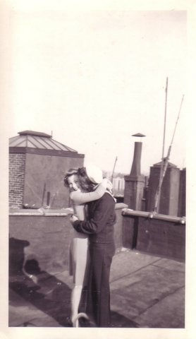 rooftop kisses
