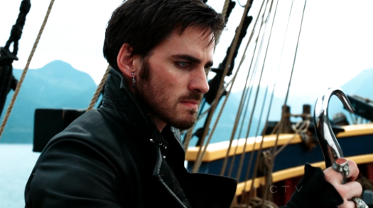 Colin O'Donoghue as Captain Hook on Once Upon A Time S02E04 Crocodile 7