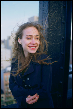 Fiona Apple on rooftop at Gramercy Park, NYC 1996