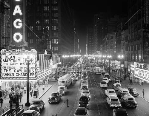 1950s-Night-Scene-of-Chicago-State-Streetr-ClassicStock-Rights-Managed-Photograph-2426