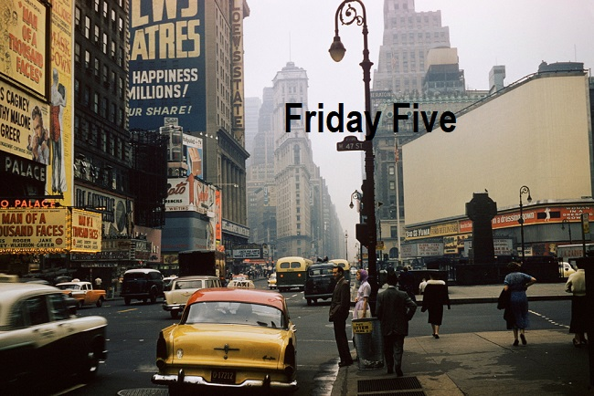 Friday Five New York