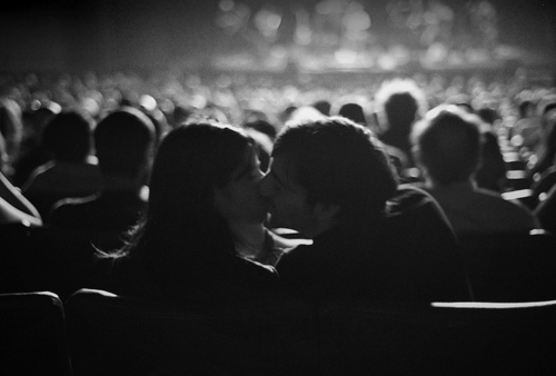 Image result for kissing in the cinema