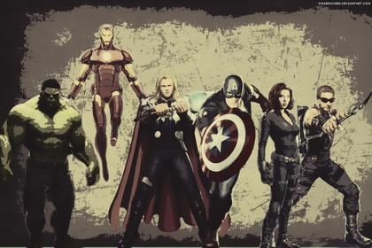 hulk comic character iron man thor captain america black widow the avengers hawkeye the avengers _www.wallpapername.com_38