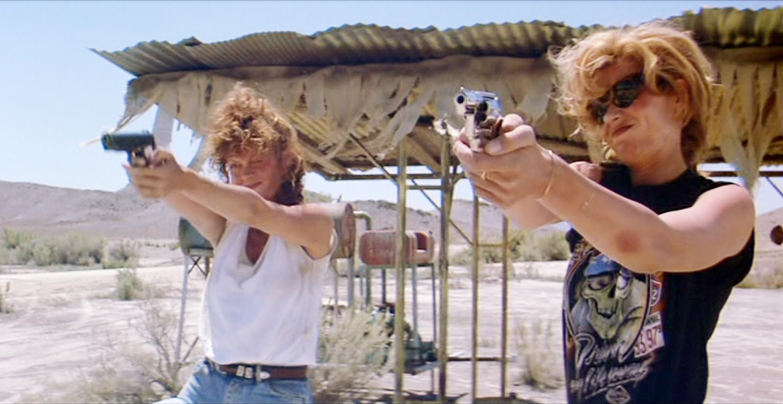 Thelma and Louise also...