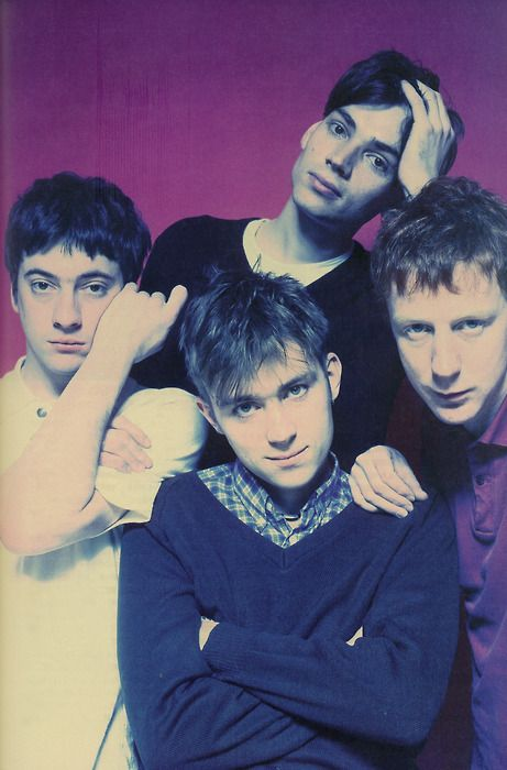 Blur, Britpop, Band, 1990s, Damon Albarn, Graham Coxon, Alex James, Dave Rowntree