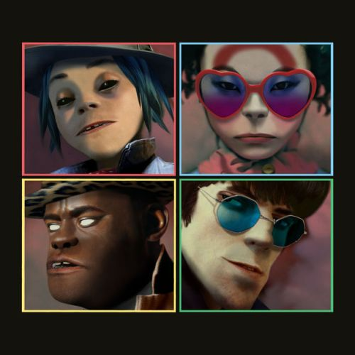 Gorillaz Humanz, Top 5 New Releases, New Release Friday