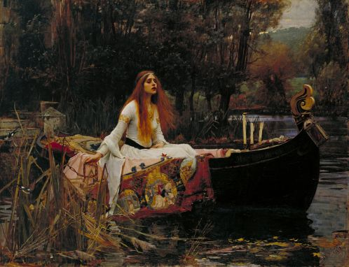 Lady of Shalott John William Waterhouse