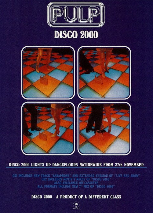 Pulp Disco 2000, Music, Best Britpop Music, Best Britpop Music Tuesday