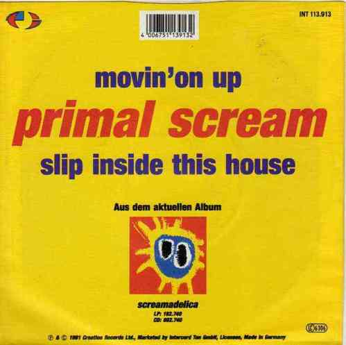 Primal Scream Movin' On Up, Music, Britpop, Best Britpop Music, Britpop Tuesday