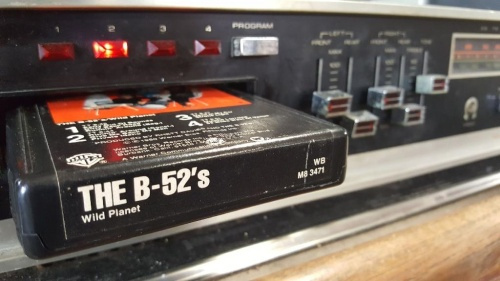 The B-52's Wild Planet, 8-Track Throwback Thursday