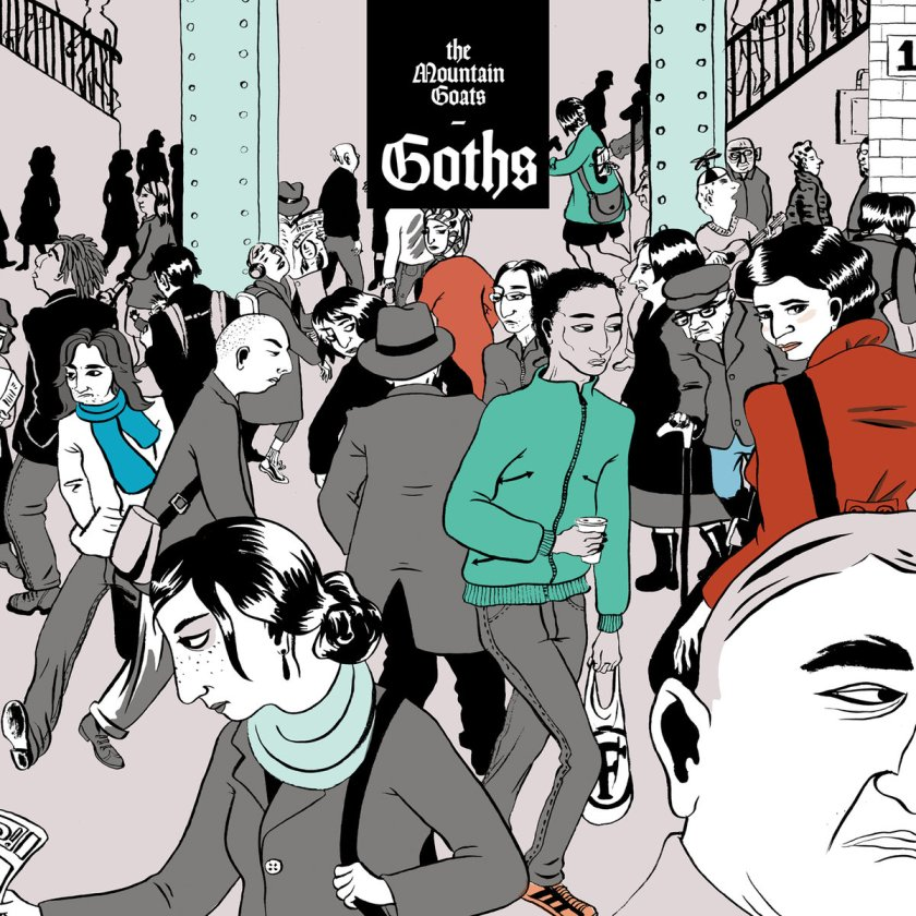 The Mountain Goats Goths, New Release Friday, Top 5 New Releases