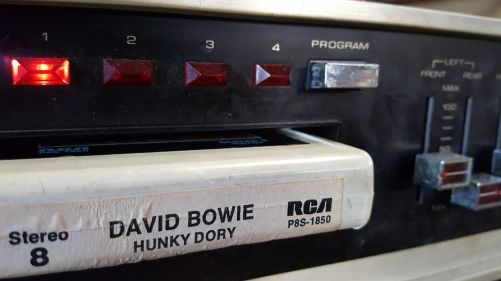 David Bowie Hunky Dory, Throwback Thursday, 8-Track Throwback Thursday