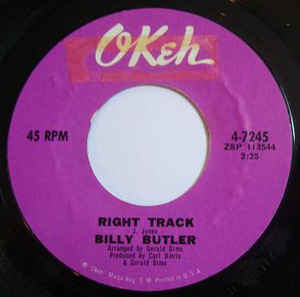 Billy Butler Right Track, Northern Soul Monday, Best Northern Soul Music
