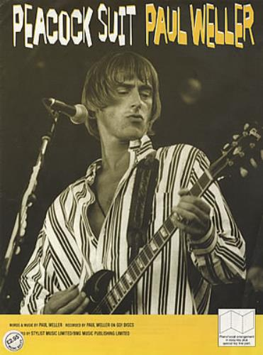 Paul Weller Peacock Suit, Weller Wednesday