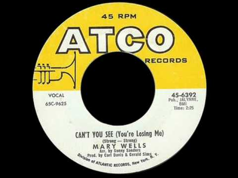 Mary Wells Can't You See (You're Losing Me), Northern Soul Monday, Best Northern Soul Music