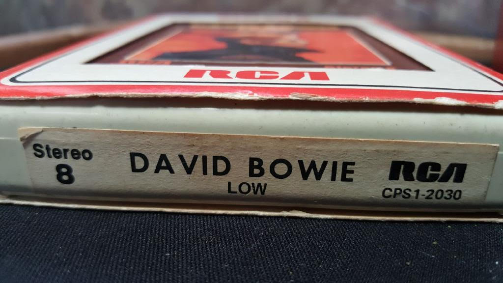 David Bowie Low, 8-Track Throwback Thursday, 8-Track Paradise