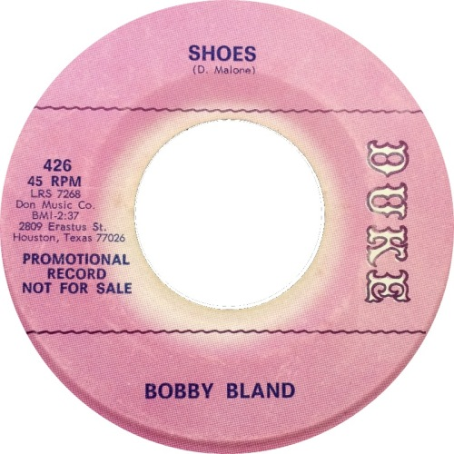Northern Soul Monday Bobby Bland Shoes 45