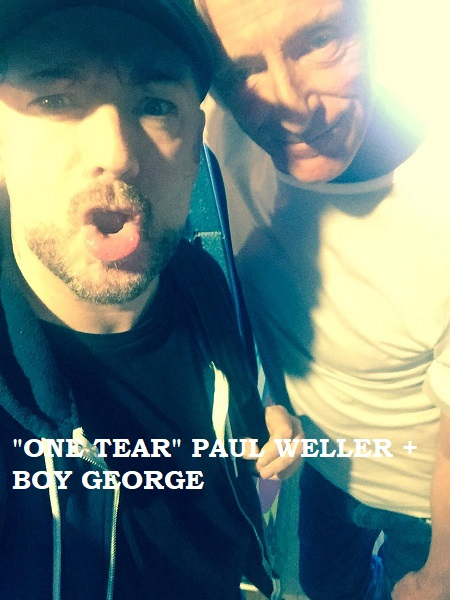 Weller Wednesday One Tear Paul Weller Boy George 2017