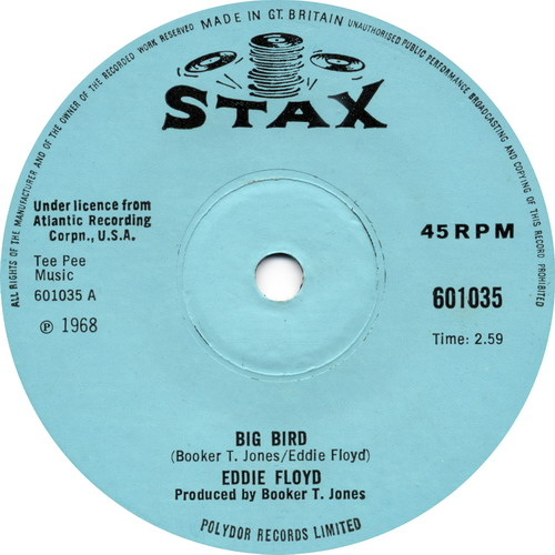 Eddie Floyd Big Bird Northern Soul Monday Vinyl