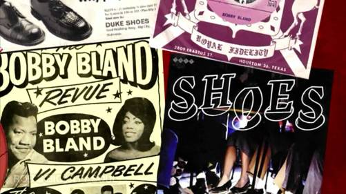 Northern Soul Monday Bobby Bland Shoes Poster