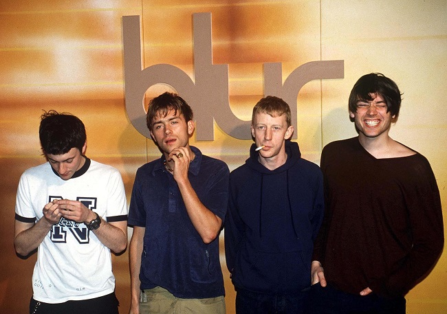 Blur Self-Titled Quintessential Albums Band Shot