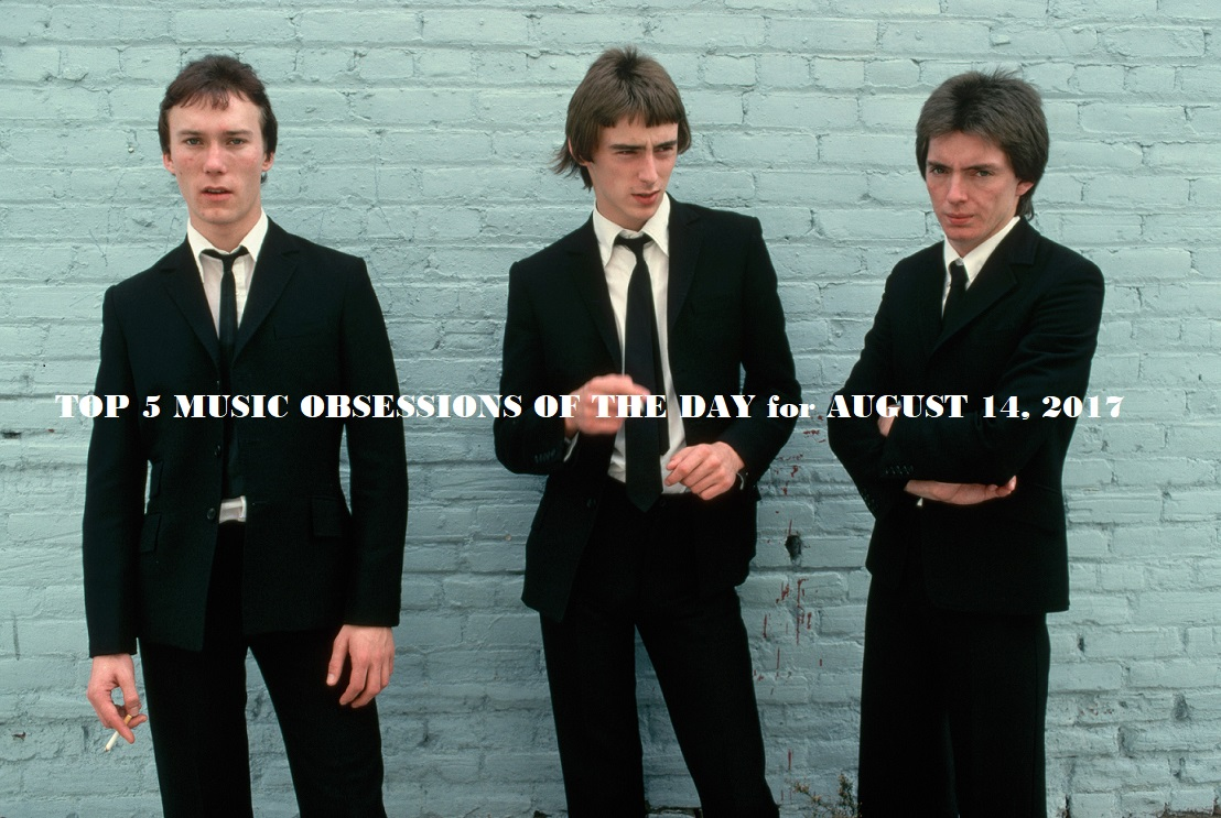 Top 5 Music Obsessions of the Day for July 14 2017 The Jam