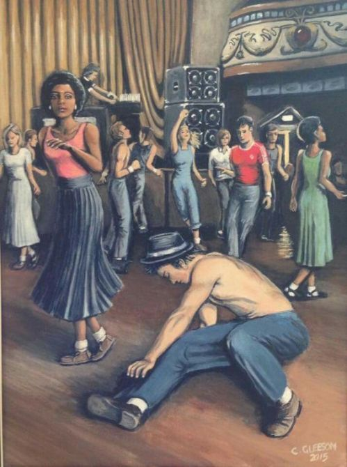 Northern Soul Monday Art Dance Floor