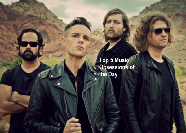The Killers Top 5 Music Obsessions of the Day