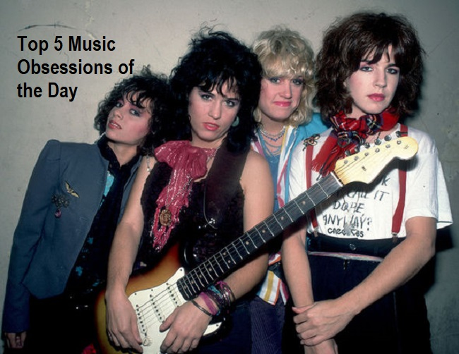 Top 5 Music Obsessions of the Day The Bangles