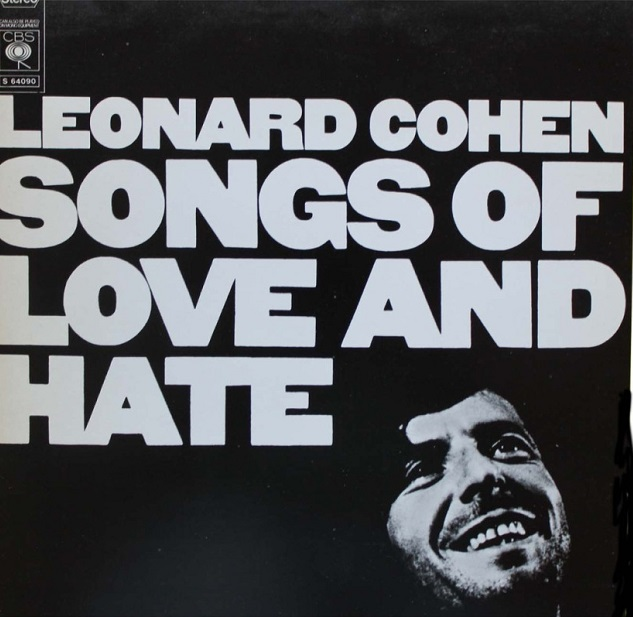 Music Listography Leonard Cohen Songs of Love and Hate