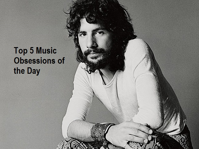 Top 5 Music Obsessions of the Day Cat Stevens Feature Picture