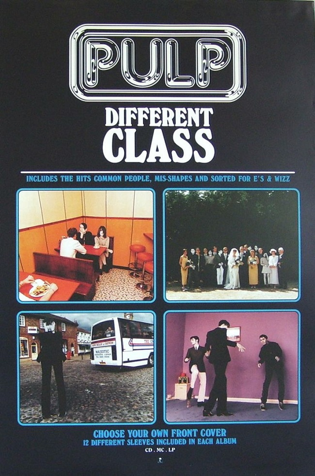 Quintessential Albums Pulp Different Class choose your own