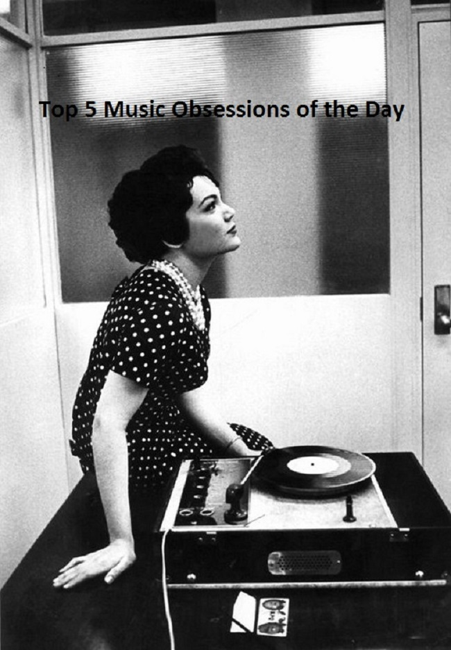 Top 5 Music Obsessions of the Day Footer
