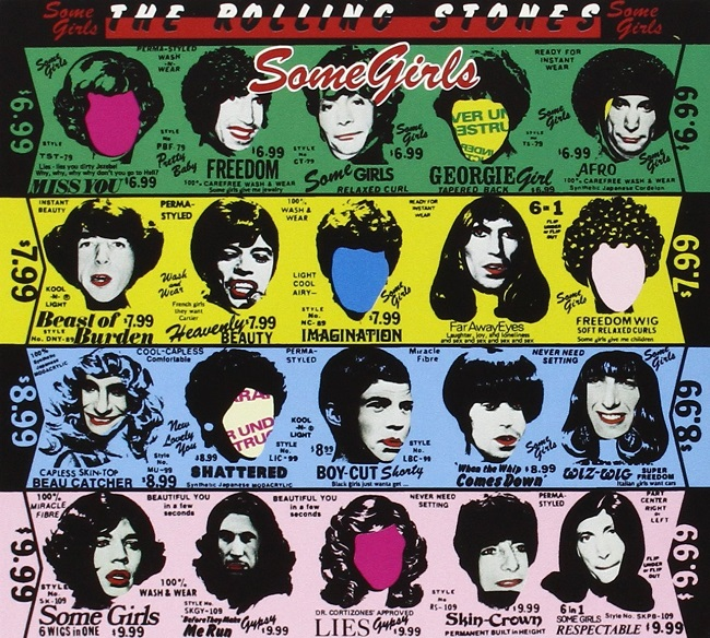 Music Listography Some Girls The Rolling Stones