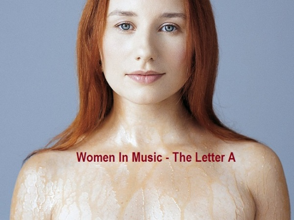 Women In Music - The Letter A - Female Friday - Tori Amos