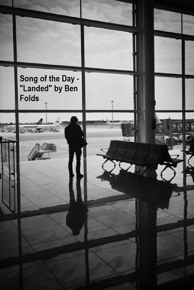 Song of the Day Landed Ben Folds Header