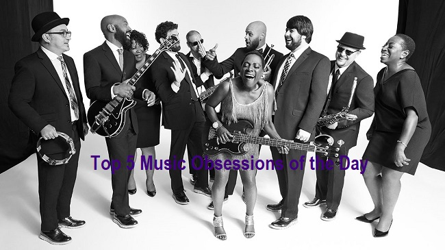Top 5 Music Obsessions of the Day Sharon Jones and the Dap Kings Feature