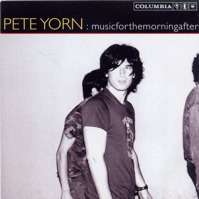 Music Listography Pete Yorn musicforthemorningafter