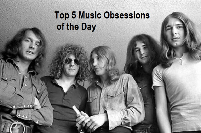 Top 5 Music Obsessions of the Day Mott The Hoople
