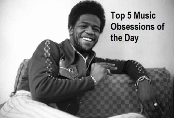 Top 5 Music Obsessions of the Day Al Green Feature