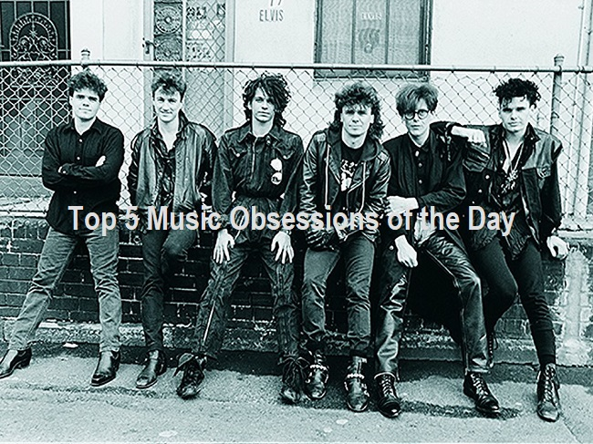 Top 5 Music Obsessions of the Day featuring INXS