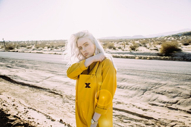 Top 5 Music Obsessions of the Day Billie Eilish Song 4