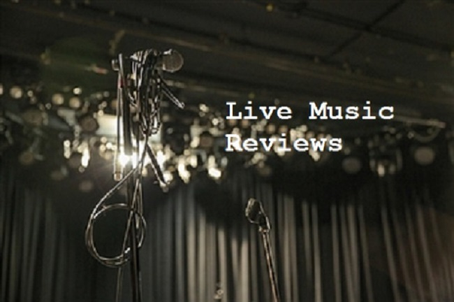 Live Music Review Header
