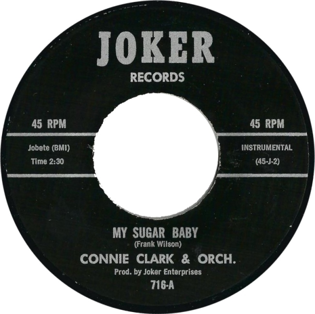 Connie Clark and Orch My Sugar Baby Northern Soul Monday