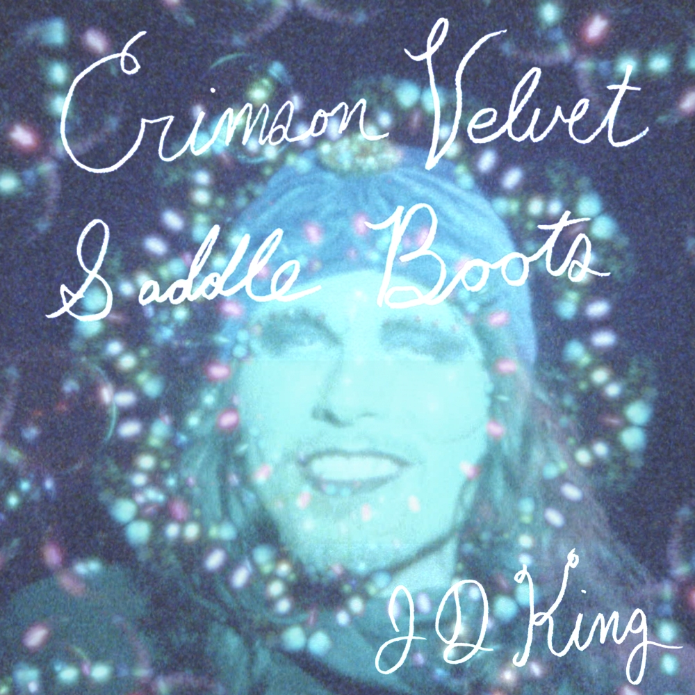 CRIMSON VELVET SADDLE BOOTS JD KING SINGLE COVER NOW HEAR THIS