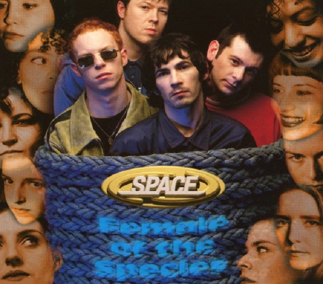 Top 5 Music Obsessions of the Day - Space - Female of the Species - Song 5