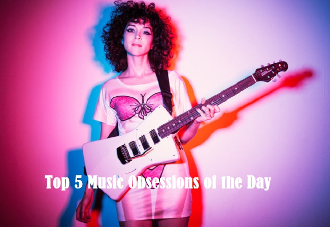 Top 5 Music Obsessions of the Day St. Vincent Feature