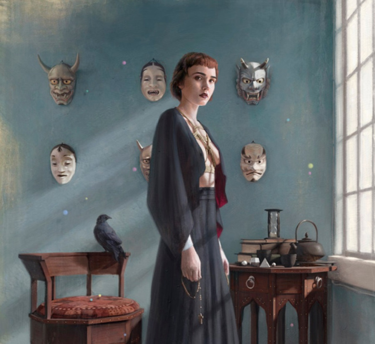 Art by Tom Bagshaw She hung all her demons up to dry today Monday Playlist