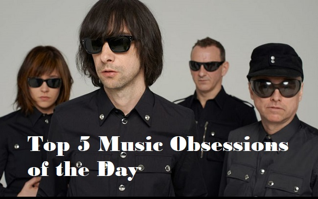Top 5 Music Obsessions of the Day Primal Scream Feature