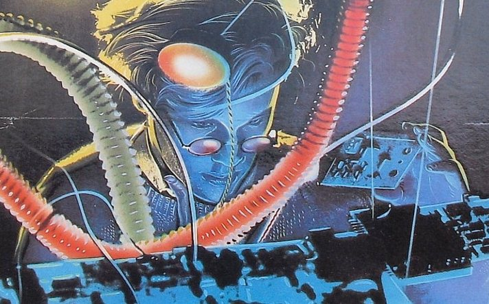 Thomas Dolby comic book cover
